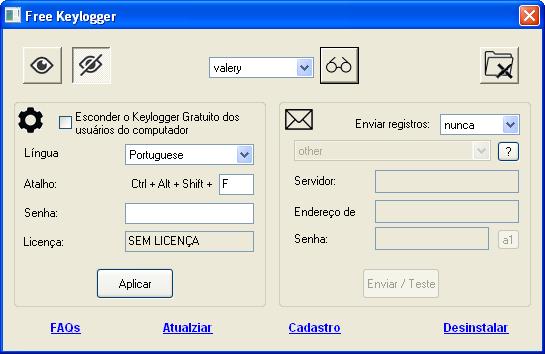 Keylogger Gratuito 4.5.11.0 full